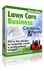 ... on their way to having kick-butt Lawn Care Business Contracts & Forms